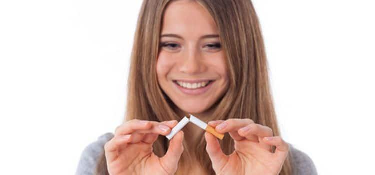 Il polso fumante smesso è diminuito